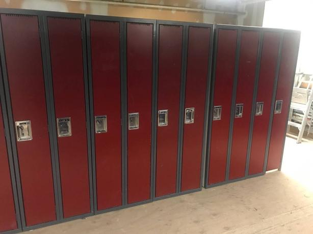 LOCKERS, OFFICE FURNITURE