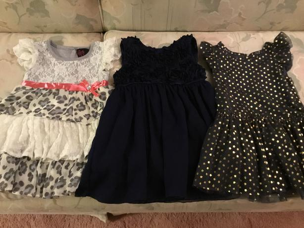 2T and 24 mos Holiday Dresses