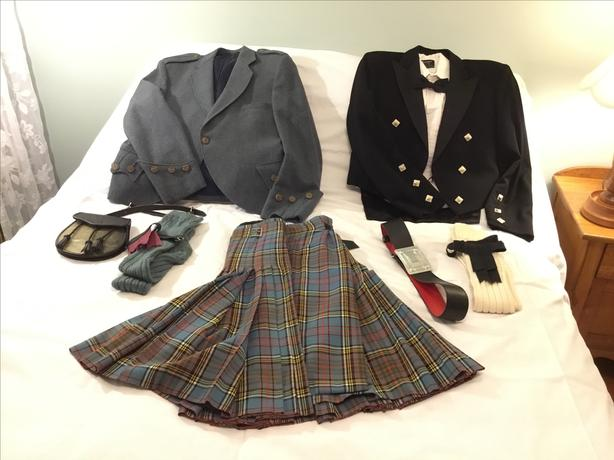 Men's Scottish Outfit