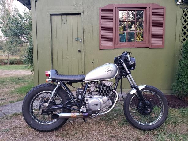1980 Yamaha SR250G