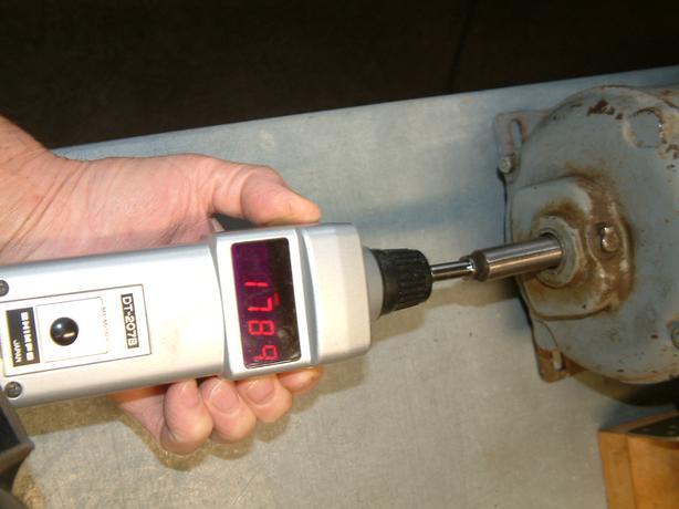 1/4 H.P 1725 RPM motor
