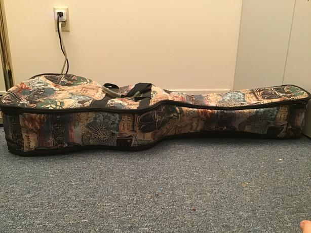 tapestry guitar case