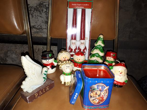 Collection of Christmas Candles