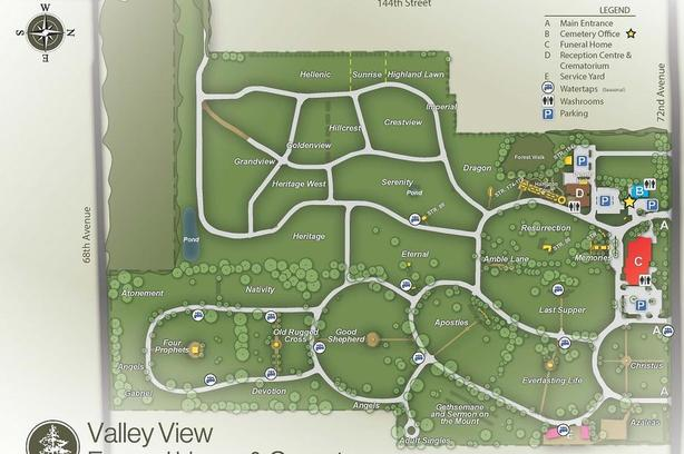 Final Offer –Burial Plot - Garden of Nativity - Valley Memorial  (Surrey)