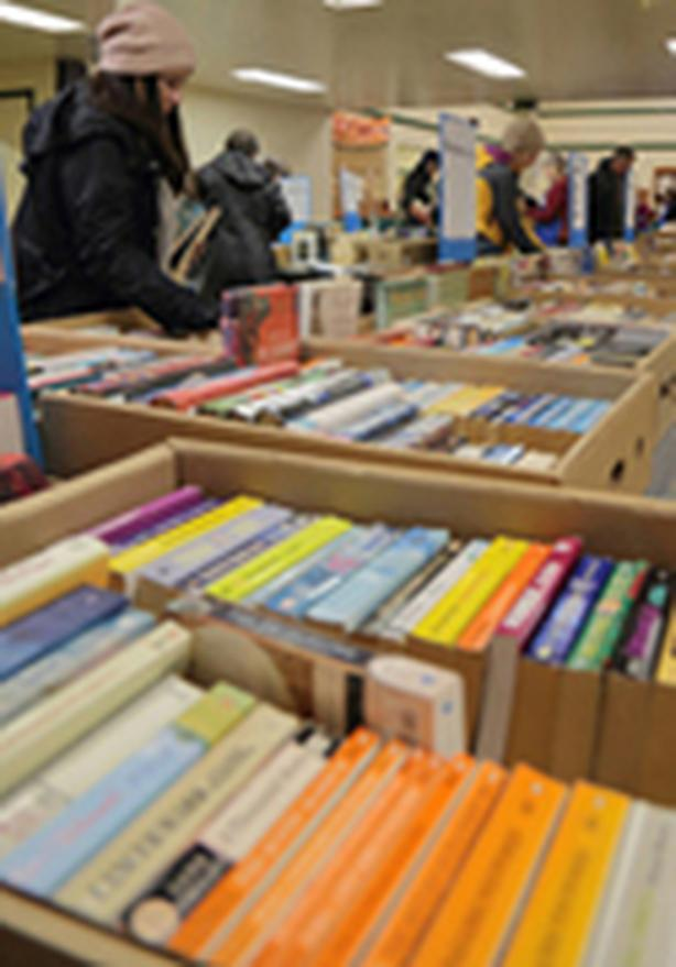 Giant Book & Jewellery Sale