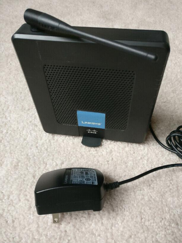 Linksys CISCO WRP400 Wireless router VOIP Gateway WiFi