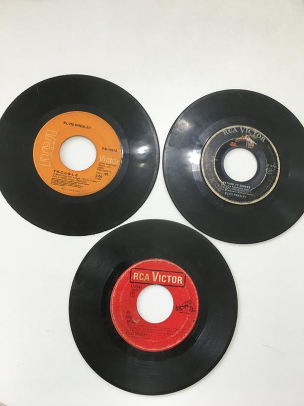Elvis Presley 45 RPM Records