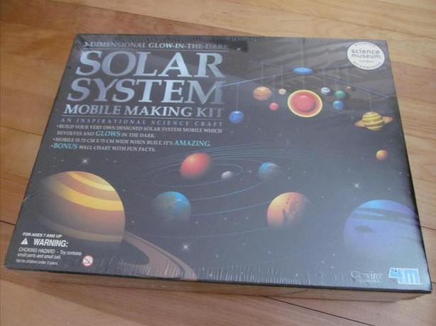 Solar System Mobile Making Kit (NEW)