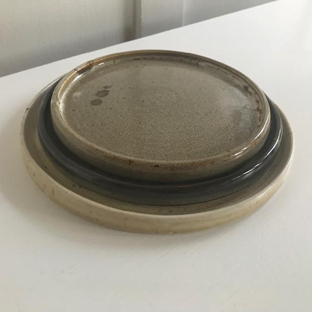 handmade pottery - moon plate set