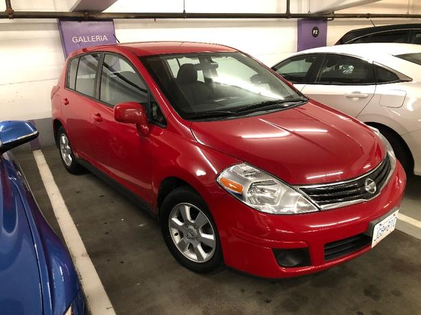 2012 NISSAN VERSA SL 5 DR / HB -4 CYL-AUTOMATIC-$4995-MINT CONDITION-$4995 FIRM