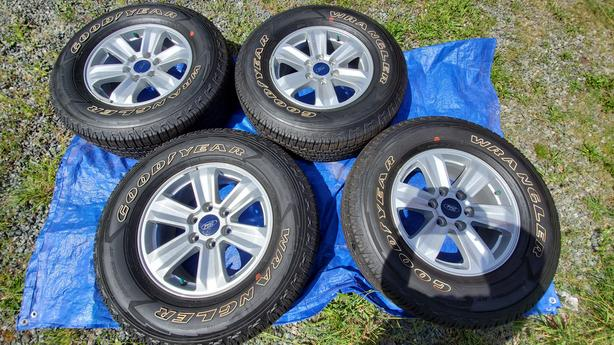 BRAND NEW TIRES PLUS RIMS FOR SALE