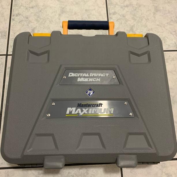 Good Condition Mastercraft Maximum Electric Digital Impact Wrench