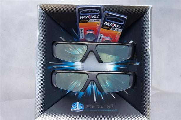 Samsung 3D Glasses, with new Batteries