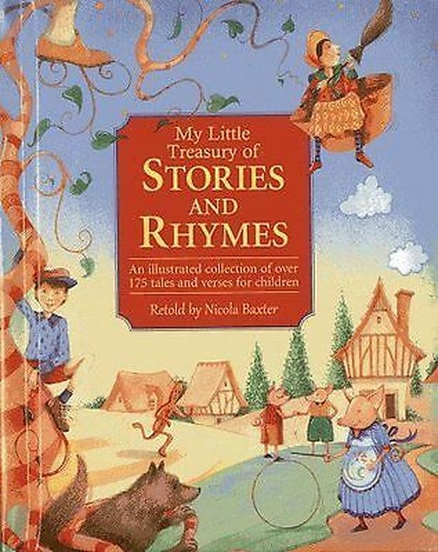 book Stories & Rhymes by Nicola Baxter