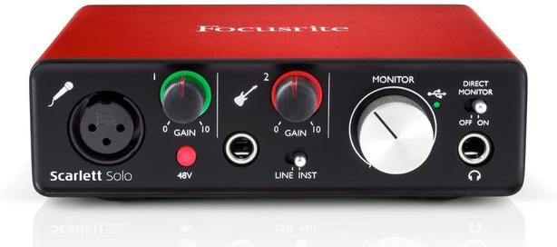 Scarlett Solo Gen 2 Audio Interface