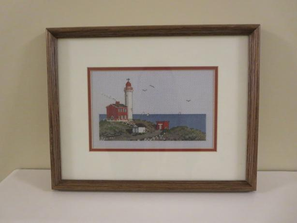 Fisgard Lighthouse Cross stitch