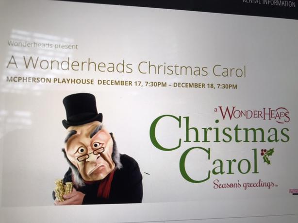 A Wonderheads Christmas Carol