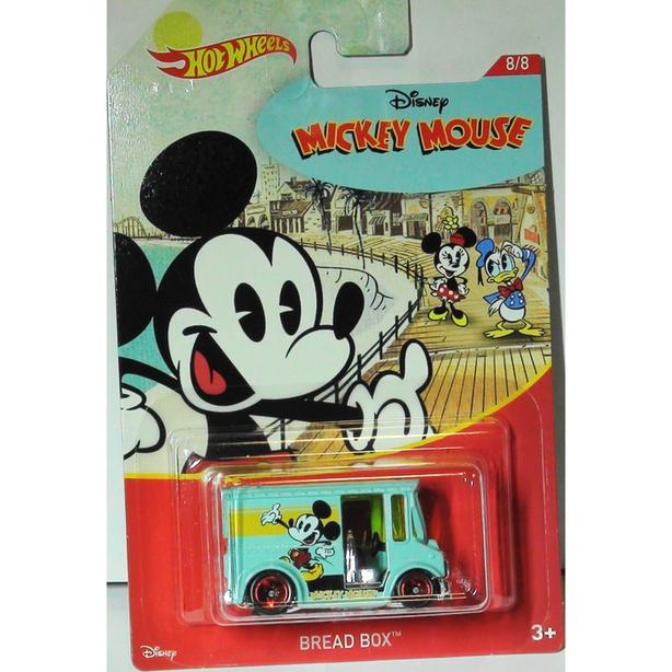 Hot Wheels Mickey Mouse Bread Box