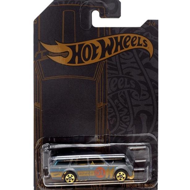 Hot Wheels Satin & Gold Datsun 510 Wagon
