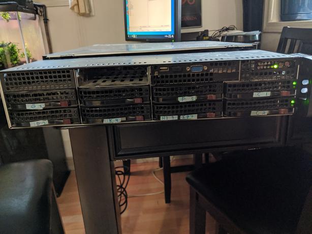 SuperMicro Dual CPU 20GB ram  2U Server