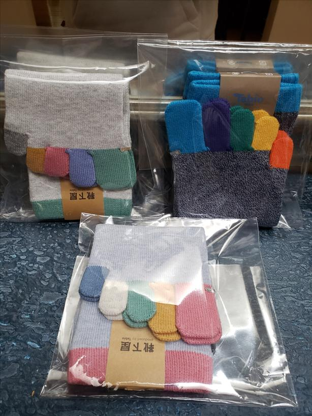 BrandNew 3 PairsOfDeluxe Japanese Toes Sock MadeOfTopQuality100%Cotton Free Size