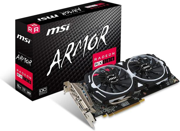 MSI RX 580 8GB ARMOR OC