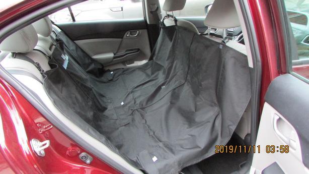 like new!  Pet car hammock - $15