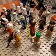Lego Star wars brick and minifigures lot