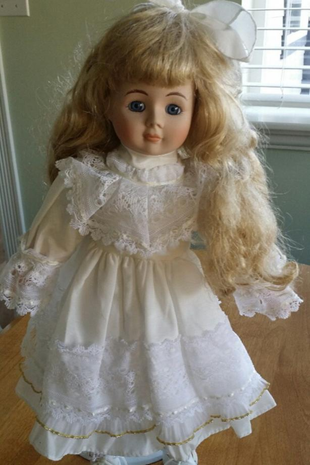 "17"" Porcelain Doll"