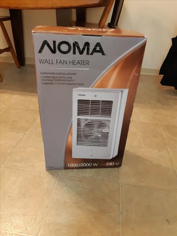 fan baseboard heater