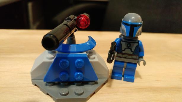 Lego Star Wars Minifigs Mandalorian