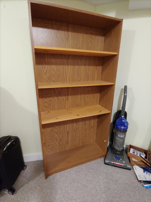"Tall Bookshelf 71 3/4"" X 3ft X 1ft"