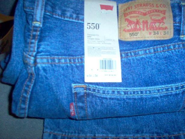 Mens Levi jeans