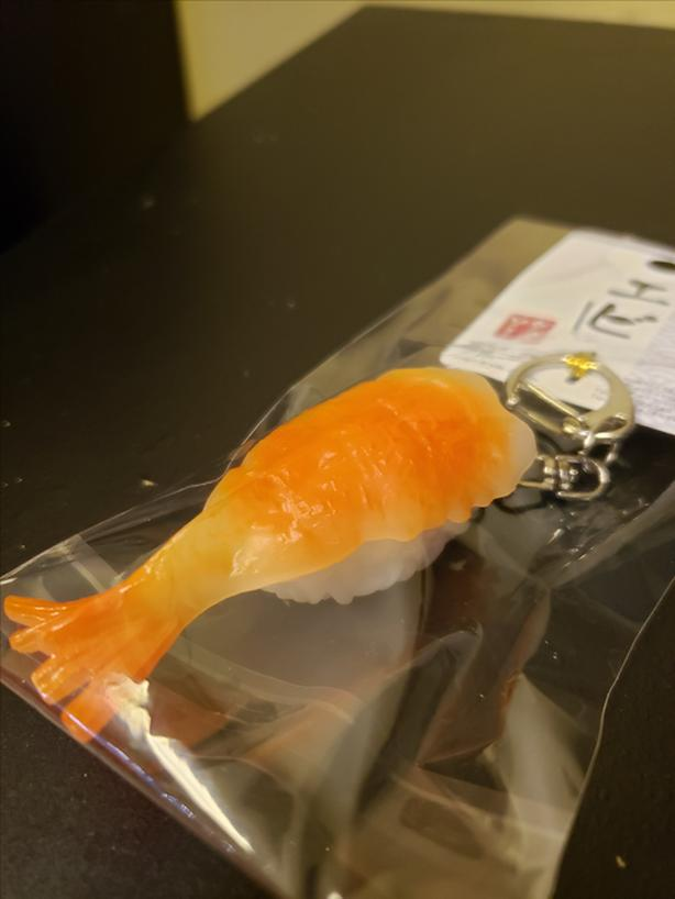 BrandNewVeryCute Sushi Keychain Fr Japan InSealedPkg GreatStockingStuffer