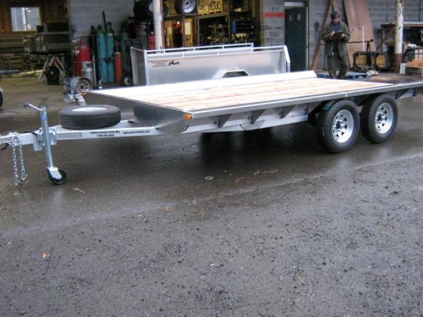 6.5X13 Side Load 3 Quad Flat Deck
