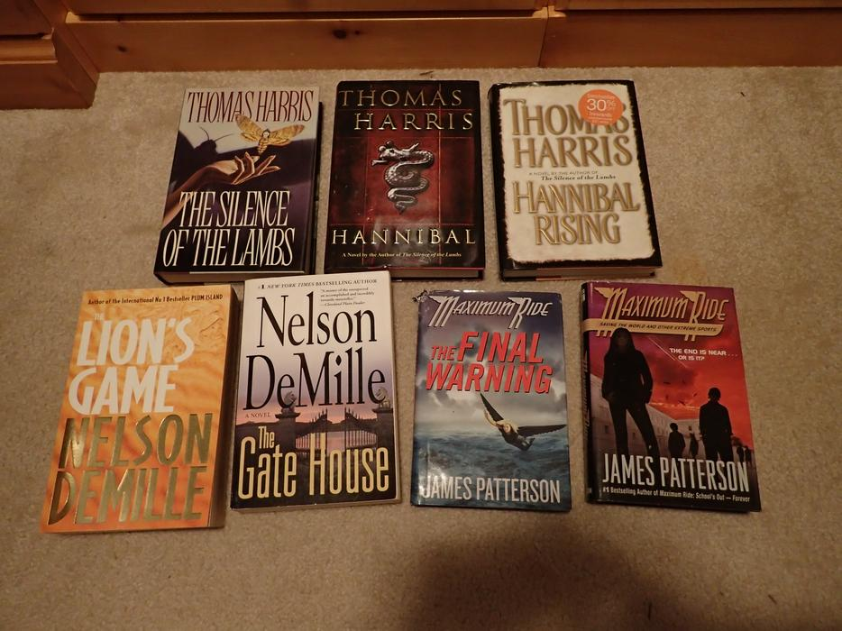 Books By Thomas Harris Nelson Demille And James Patterson West