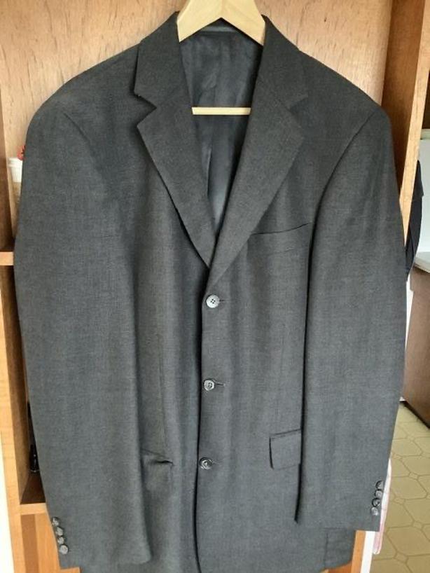 Men's Dinner/Suit Jacket, Grey, Size M