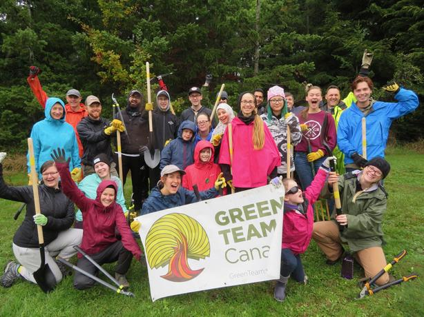 Volunteer with the GV Green Team in Esquimalt Gorge Park!