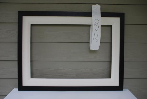 Frame To Fit 20x30 Painting (Brownstone & Liner style, new, mahogany)