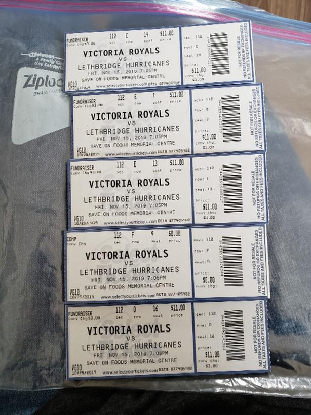 Victoria Royals Tickets