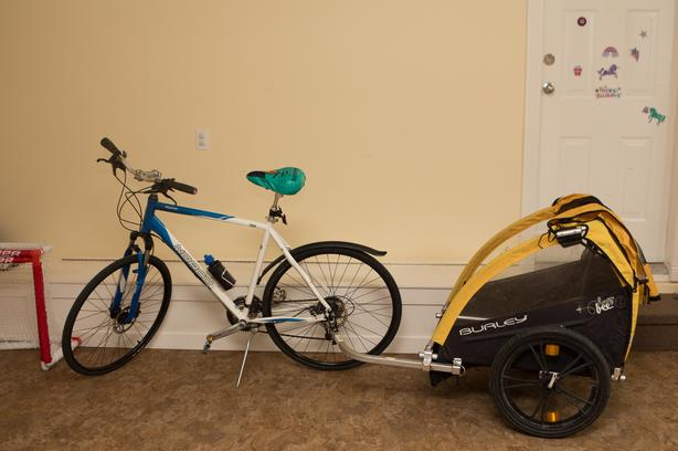 Burley Bike Trailer- fits 2 kids (or dogs)