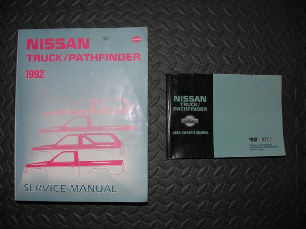 92 Nissan Pathfinder Service and Owners Manual
