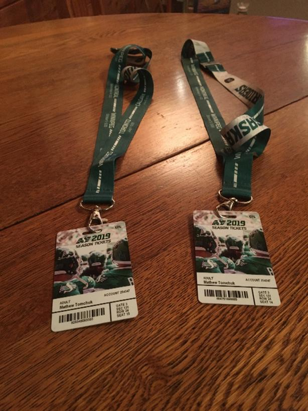 two Rider tickets for sale