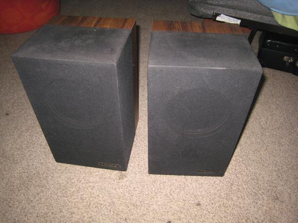 Mission 70 vintage bookshelf speakers
