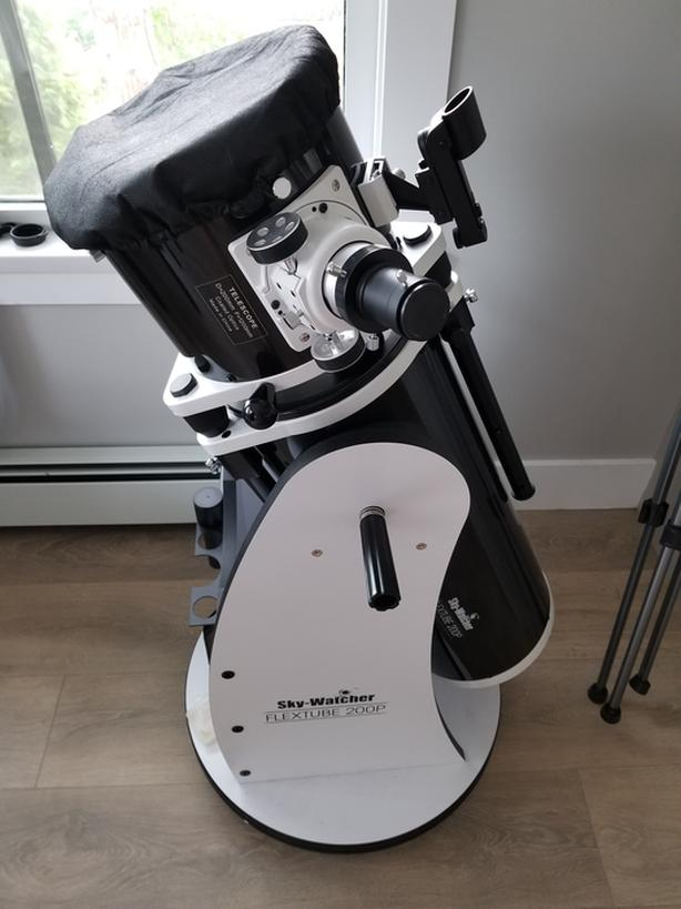 Dobsonian telescope 8 inch with eyepieces