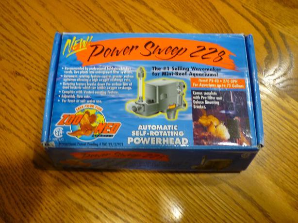 Zoo Med Power Sweep 228 Power Head