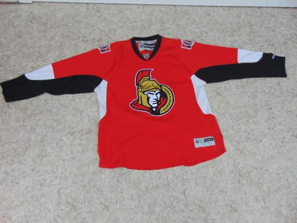 Hockey Jersey Men's Size X Large Reebok Ottawa Senators Red Minor Wear