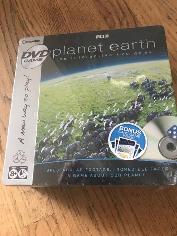Interactive DVD game. BBC Planet Earth.