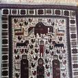 Gorgeous vintage Baluch rug