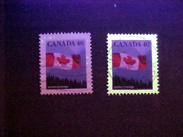 SCOTT 1169 UNTAGGED FLAG STAMP VARIETY